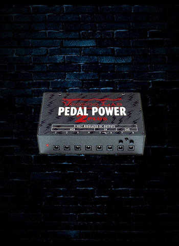 Voodoo Lab Pedal Power 2 Plus - Universal 8-Output Power Supply