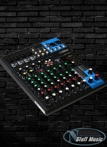 yamaha mg06 6 channel mixing console rental. Black Bedroom Furniture Sets. Home Design Ideas