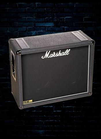 marshall 1936 150 watt 2x12 guitar cabinet black. Black Bedroom Furniture Sets. Home Design Ideas