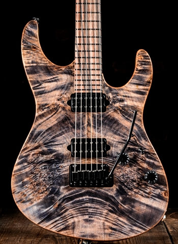 Suhr Modern Custom Waterfall Burl Maple Cocobolo Trans