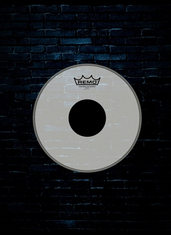 "Remo CS-0314-10 - 14"" Controlled Sound Clear Black Dot Drumhead"