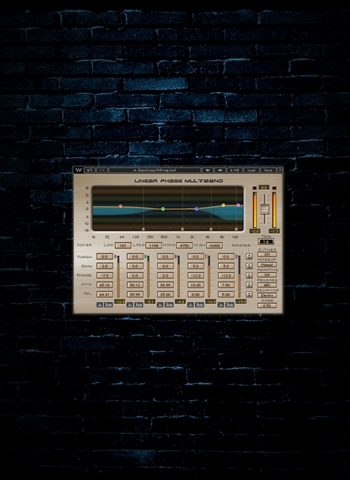Waves Linear Phase Multiband Compressor Plug-In (Download)