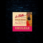 La Bella No. 11 Clear Nylon Ukulele Strings - Soprano (22-25)