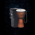 Meinl ADJ2-L+BAG Original African Style Rope Tuned Wood Djembe - Brown