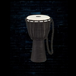 Meinl HDJ3-M Headliner Series Rope Tuned Wood Djembe - Black