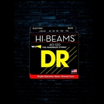 DR LR5-40 Hi-Beam Stainless Steel Bass Strings - 5-String Lite (40-120)