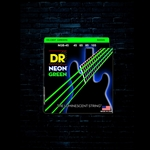 DR NGB-45 K3 NEON Green Bass Strings - Medium (45-105)