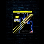 DR NYB-45 K3 NEON Yellow Bass Strings - Medium (45-105)