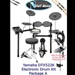 Yamaha DTX522K Electronic Drum Kit Package A