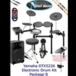 Yamaha DTX522K Electronic Drum Kit Package B
