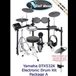 Yamaha DTX532K Electronic Drum Kit Package A