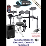 Yamaha DTX532K Electronic Drum Kit Package B