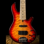 Lakland Skyline 55-02 Deluxe Electric Bass - Cherry Sunburst