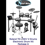 Roland TD25KV V-Drum Kit Package A