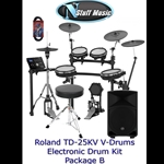 Roland TD25KV V-Drum Kit Package B