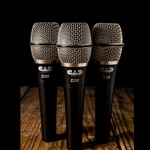 CAD Audio D38X3 - D38 Supercardioid Dynamic Instrument Microphone (3 Pack)