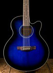 Ibanez AEL1512E - Transparent Blue Sunburst