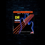 DR NOB-45 K3 NEON Orange Bass Strings - Medium (45-105)