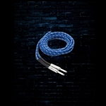 Hosa 3GT-18C2 - 18' Cloth Guitar Cable - Blue/Green/White