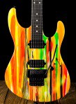 Suhr 80's Shred MKII - Neon Drip