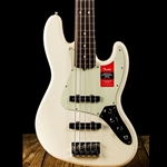 Fender American Professional Jazz Bass V - Olympic White