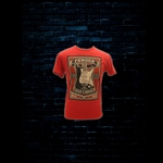 Fender Built 2 Inspire T-Shirt - Red (Small)