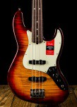 Fender Limited Edition American Professional Jazz Bass FMT - Aged Cherry Burst