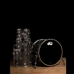 Drum Workshop Collector's Series 4-Piece Drum Set - Black Galaxy