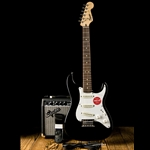 Squier Stratocaster Starter Package - Black