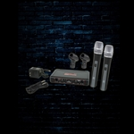 Galaxy Audio EDX Dual Channel Wireless Microphone System (Code N)