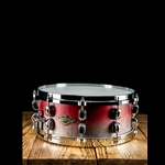 "Tama WBSS55 - 5.5""x14"" Starclassic Walnut/Birch Snare Drum - Satin Burgundy Fade"