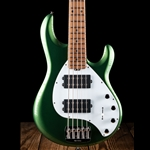 Ernie Ball Music Man StingRay5 Special HH - Charging Green