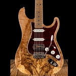 LSL Instruments Saticoy DX Spalted Maple/Swamp Ash - Tobacco Burst