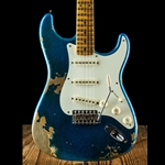 Fender Custom Shop 50s Super Faded Heavy Relic Strat - Blue Sparkle *USED*