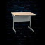 Raxxess SCD-36M - Straight Center Desk - Maple