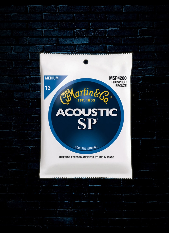 Martin SP 4200 Acoustic Strings Phosphor Bronze Medium 13-56
