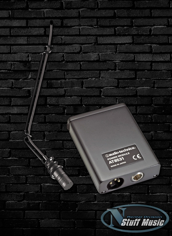 Black Audio-Technica U851R Cardioid Condenser Boundary Microphone