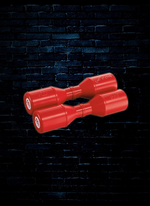 Meinl Luis Conte Studio Shaker Red