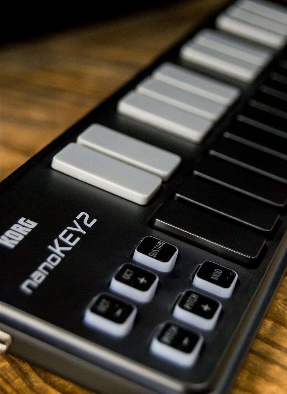 Korg nanoPAD 2 Slim-Line USB Controller - Black