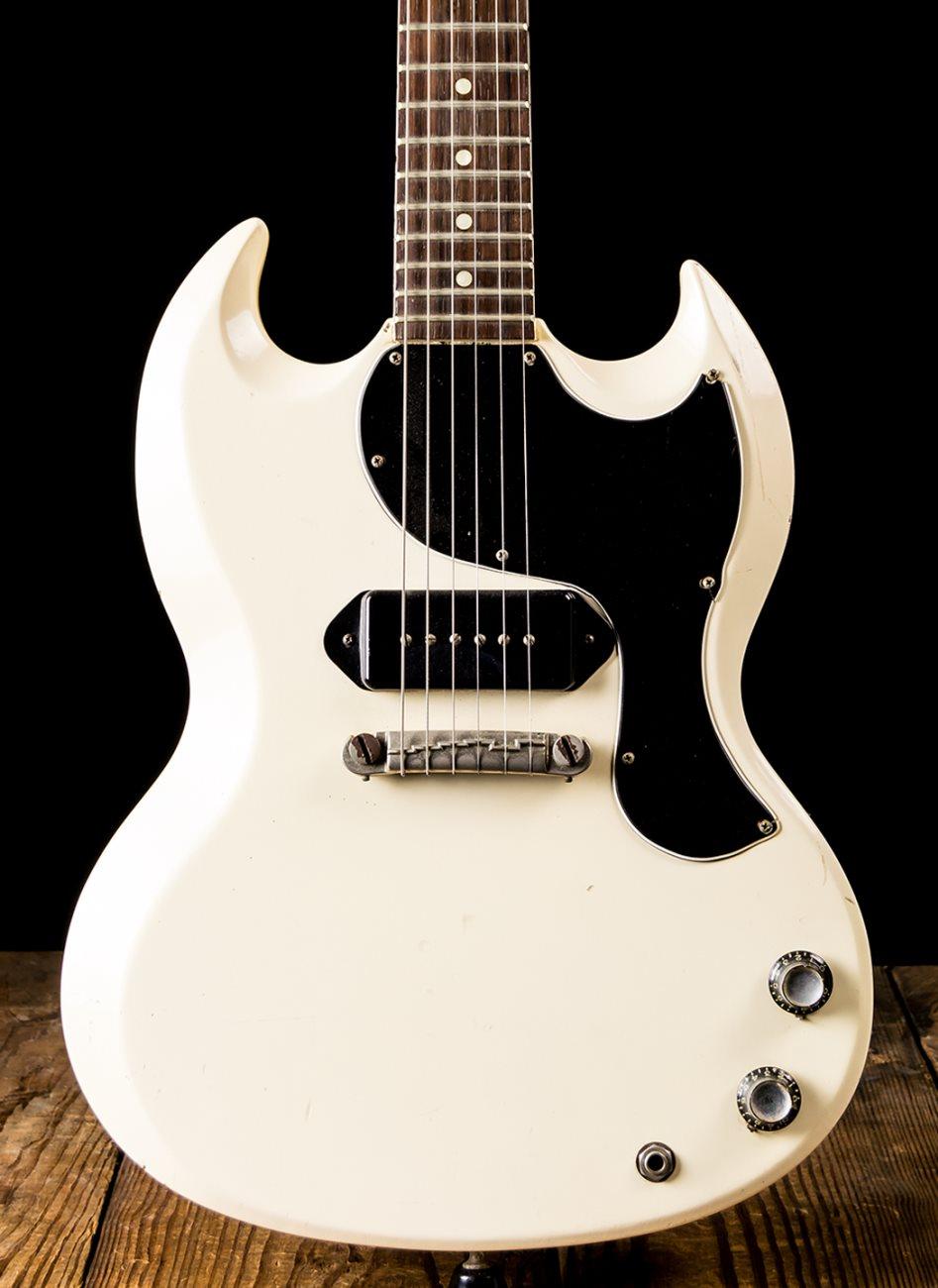 Gibson 1963 SG Junior - White *USED* | NStuffmusic com