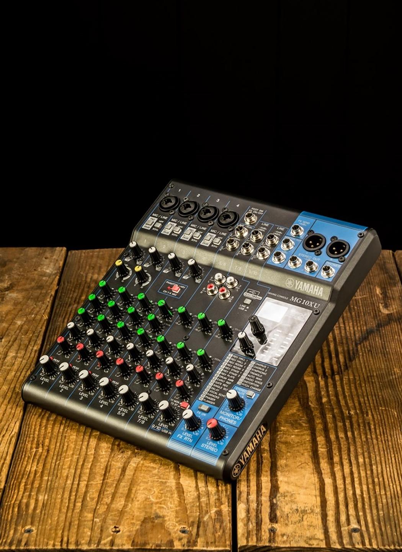 Yamaha Mg10xu 10 Channel Analog Mixer Tap To Expand