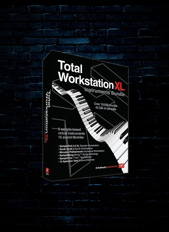 IK Multimedia Total Workstation XL Instruments Software Bundle (Download)
