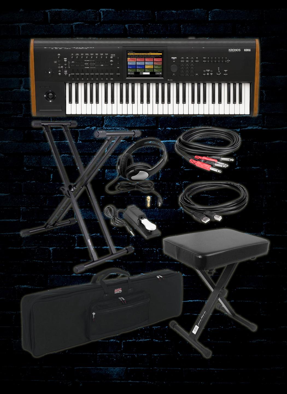 Korg KRONOS-61 Workstation Package A