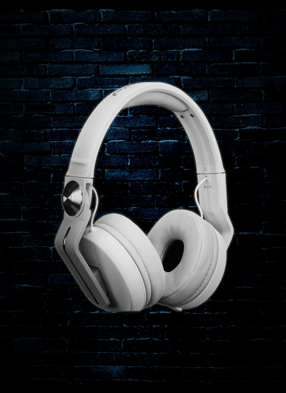 35fcd27a07d Pioneer HDJ-700-W DJ Headphones - White. Tap to expand