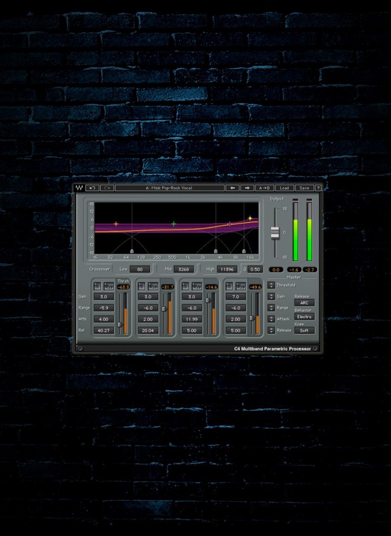 Waves C4 Multiband Compressor Plug-In (Download)