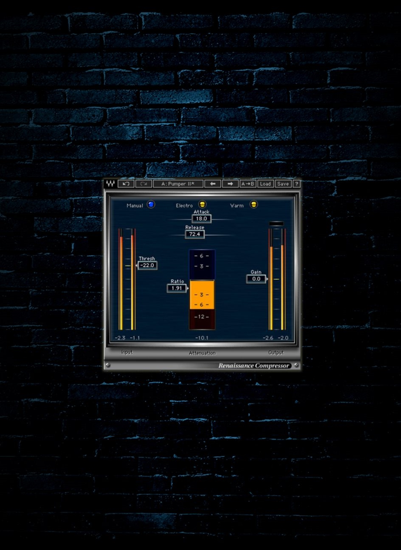 Kvr: renaissance compressor by waves dynamics (compressor.
