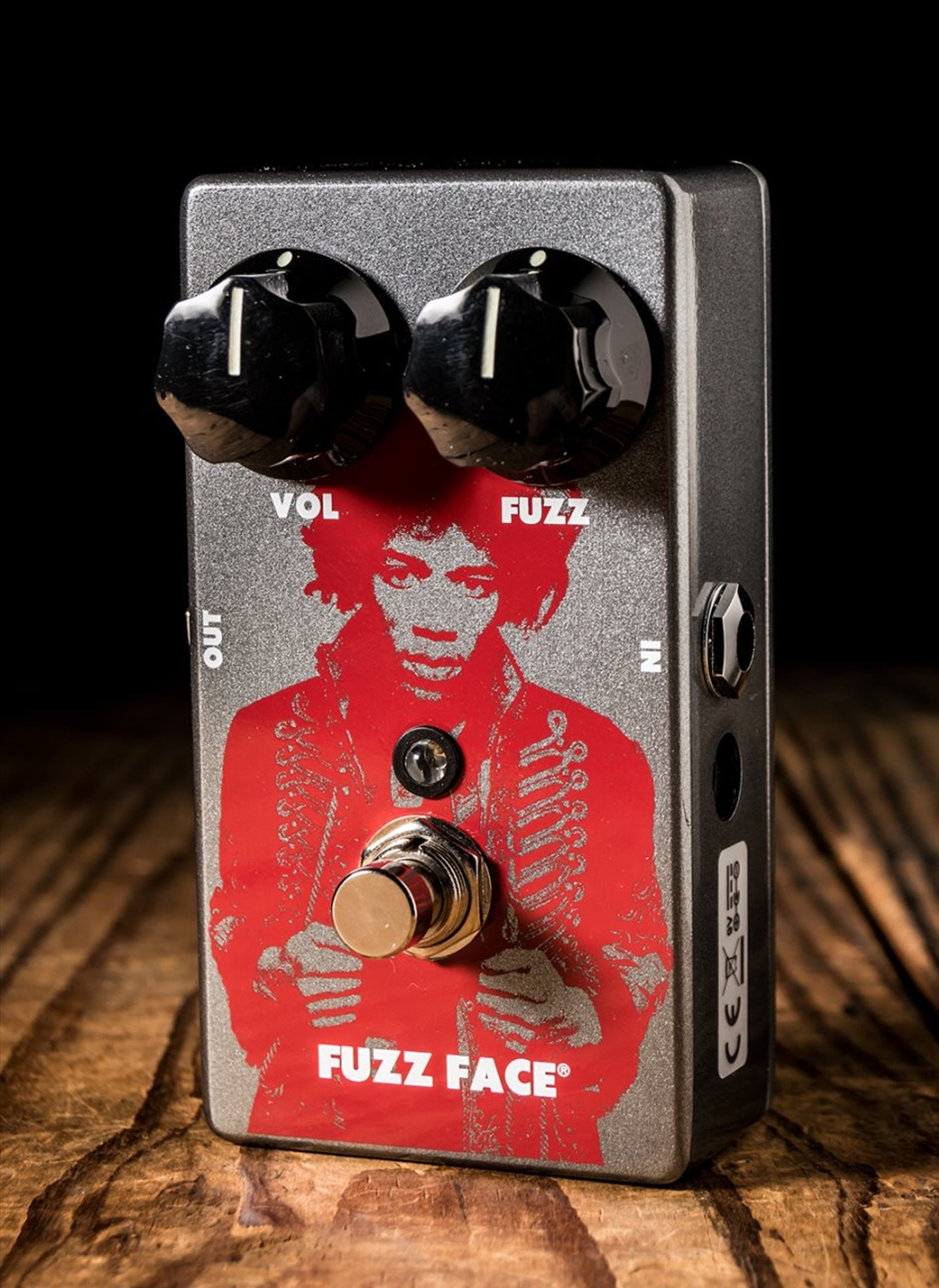 Dunlop Jhm5 Jimi Hendrix Fuzz Face Distortion Pedal Jimmy Guitar Effect Schematic Diagram Tap To Expand