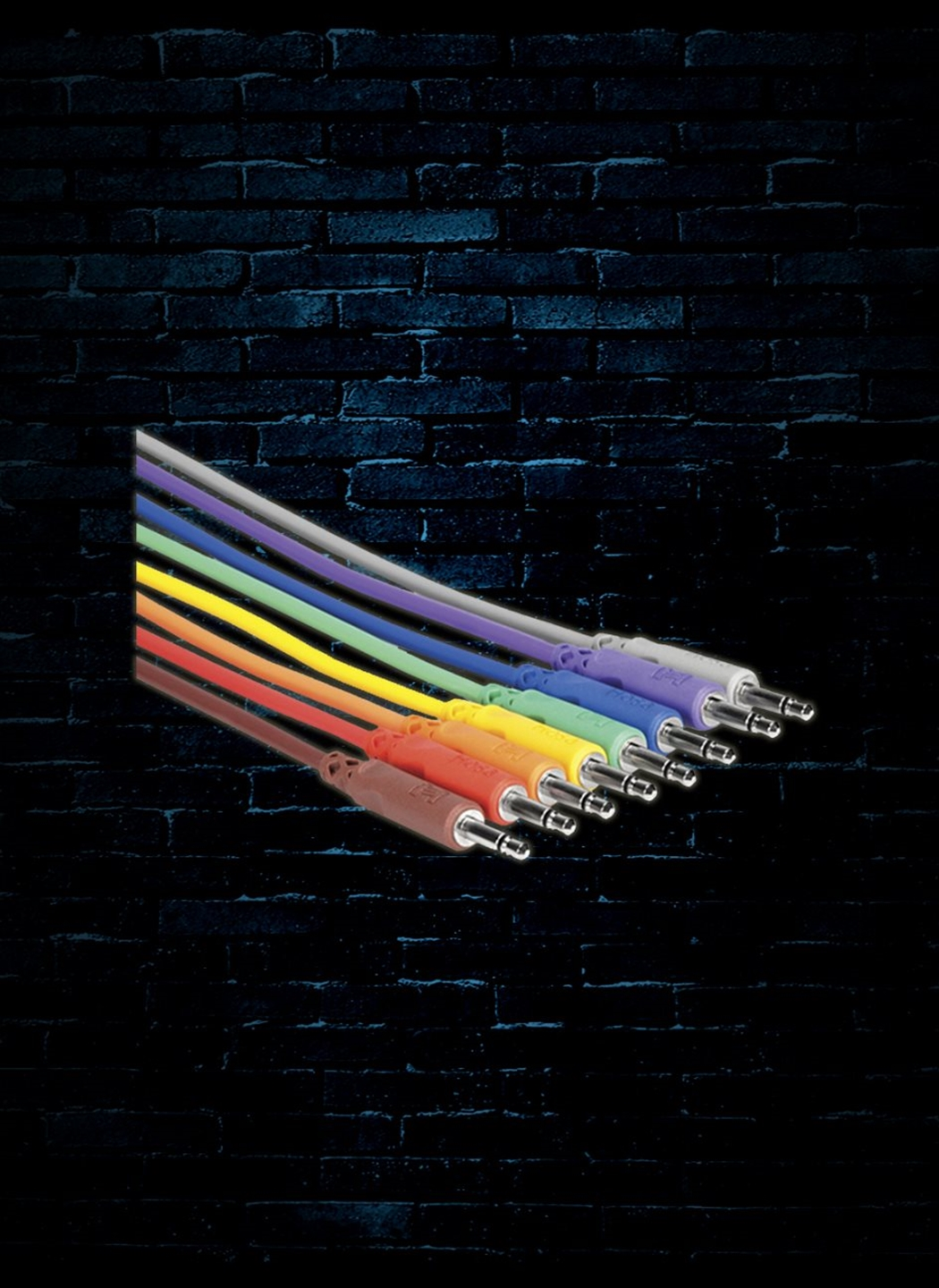 Hosa CMM-830 - 1' 3 5mm TS to 3 5mm TS Unbalanced Patch Cables