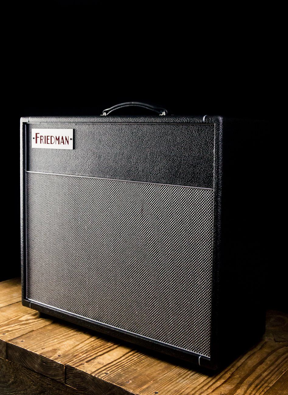 Friedman Dirty Shirley 112 1x12 Guitar Cabinet Black Wiring Show Picture 3