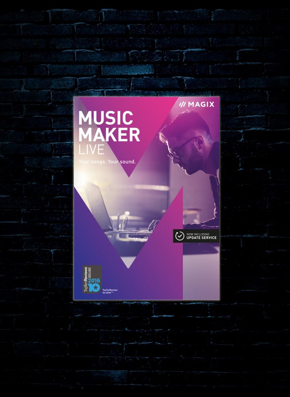 MAGIX Music Maker Live Edition Software (Download)
